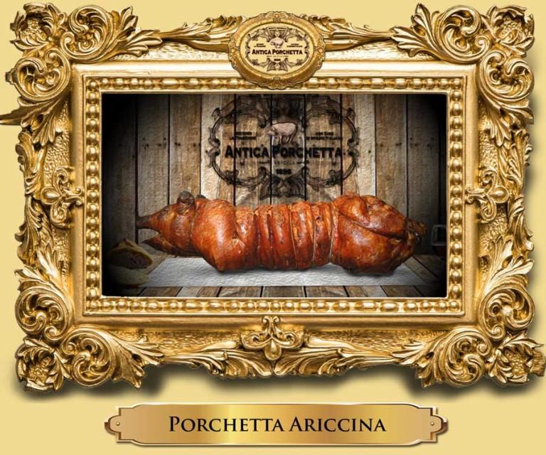 Porchetta Ariccia Intera con peso da 25 a 50 Kg.