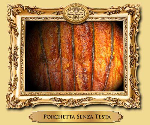 Porchetta con e senza testa freschissima prodotta direttamente ad Ariccia, ordina e ricevi in 24 ore!