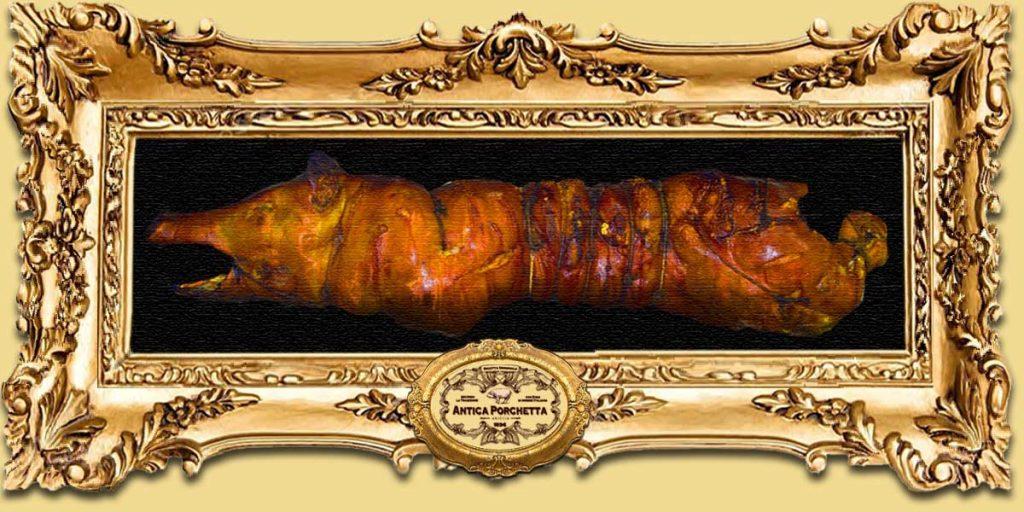 Porchetta piccola con testa ideale per feste e celebrazioni, a partire da 20 Kg. porchetta piccola con testa Porchetta piccola con Testa PORCHETTA PICCOLA SLIDE